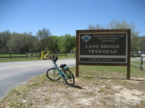 Marjorie Harris Carr Cross Florida Greenway, Landbridge Trailhead