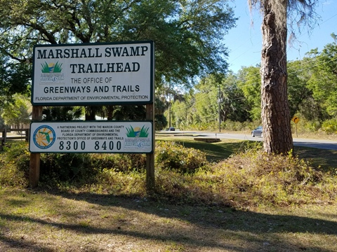 Marjorie Harris Carr Cross Florida Greenway, Marshall Swamp