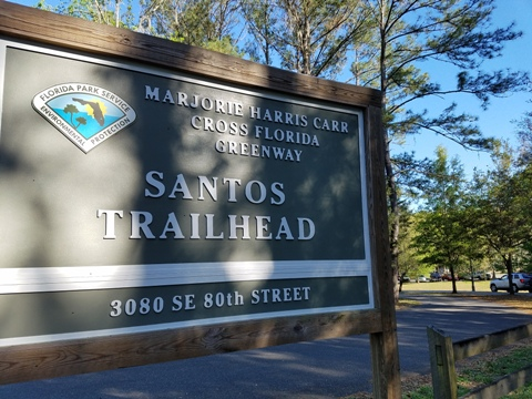 Marjorie Harris Carr Cross Florida Greenway, Santos Trailhead