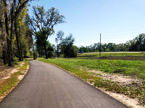 Marjorie Harris Carr Cross Florida Greenway, Santos to Landbridge