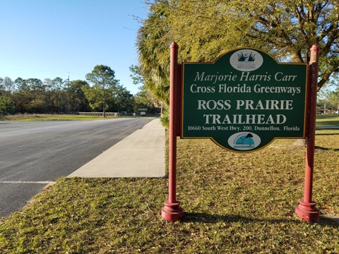 Marjorie Harris Carr Cross Florida Greenway, Ross Prairie