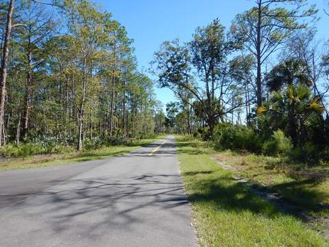 Florida biking, East Central Rail Trail, Titusville