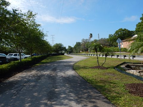 Pinellas Trail Loop, paved Florida Bike Trail