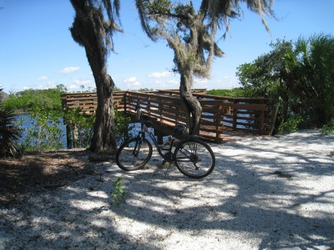Florida Bike Trails, Pinellas Trail, Tarpon Springs, Keystone Rd.
