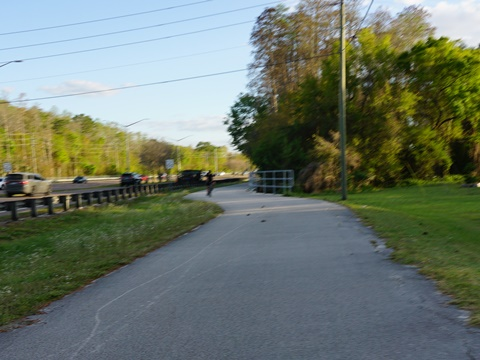 Florida Bike Trails, Pinellas Trail, East Lake Road