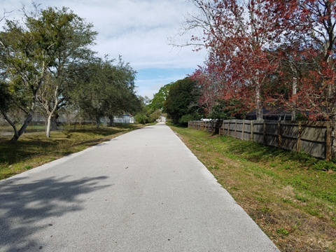 Florida Bike Trails, Pinellas Trail, Gulfport