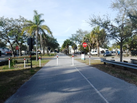 Florida Bike Trails, Pinellas Trail, dunedin