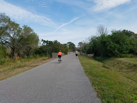 Florida Bike Trails, Pinellas Trail, Palm Harbor