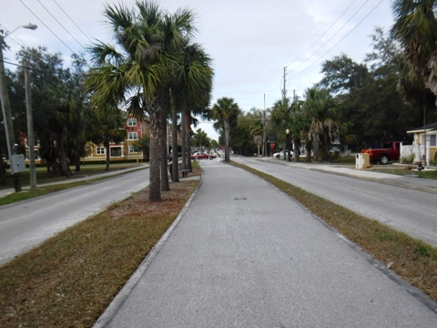 Florida Bike Trails, Pinellas Trail, Tarpon Springs