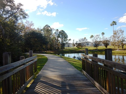 Orlando FL bike trails, Celebration