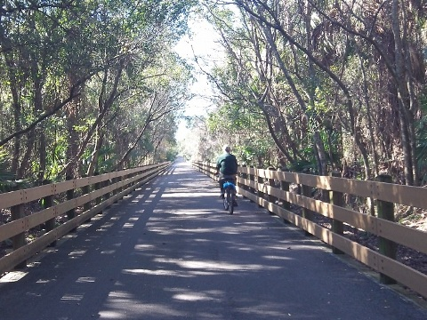 Florida bike trails, Cross Seminole Trail