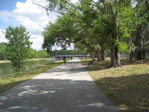 Orlando bike trails - Little Econ Greenway