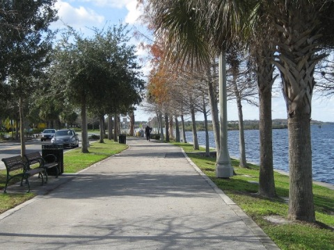 Central Florida bicycle trails, Sanford Riverwalk