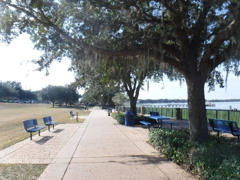 Florida biking, South Lake trail, Minneola Scenic Trail, Clermont FL