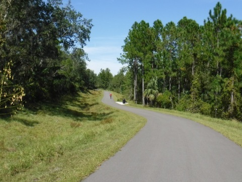Florida biking, Spring-to-Spring trail