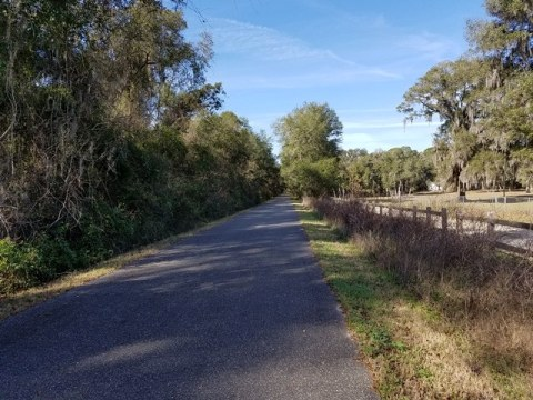 Florida Bike Trails, Palatka-Lake Butler State Trail