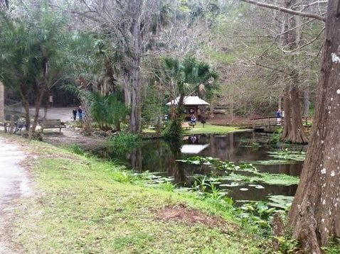 Florida Bike Trails, Ravine Gardens
