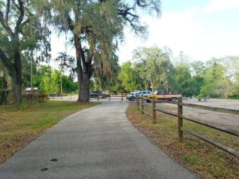 Florida Bike Trails, Blountstown Greenway Bike Path