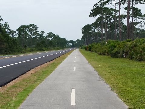 Loggerhead Run Bike Path, FL Panhandle