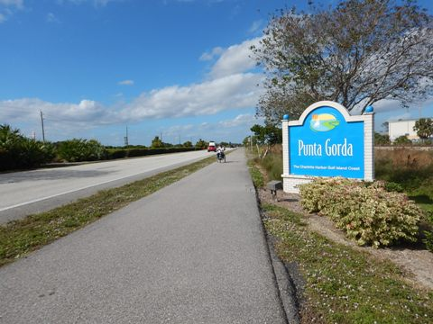 Florida Bike Trails, Punta Gorda US41 Shared-Use Trail