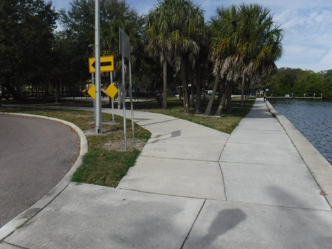 North Bay Trail, bike St. Petersburg