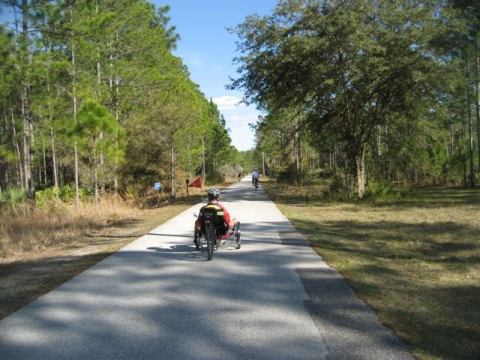 Florida Bike Trails, Starkey Wilderness Trail