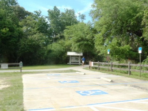 Van Fleet Trail - Polk City trailhead