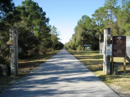 Van Fleet State Trail, Green Pond Trailhead
