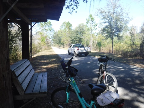 Van Fleet State Trail, Bridges to Bay Lake Trailhead