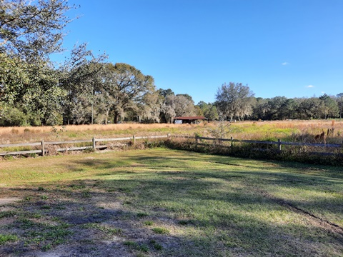 Van Fleet State Trail, Bay Lake Trailhead